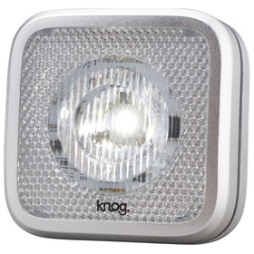 Knog Blinder MOB Bike Light white LED grey/silver